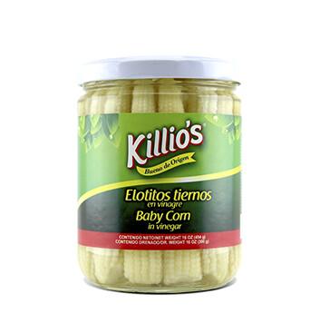 Elotitos tiernos en vinagre - Killio's - 440 g