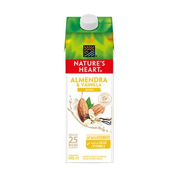 Bebida Almendra Vainilla - Sin Azucar - Natures Heart - 946 ml