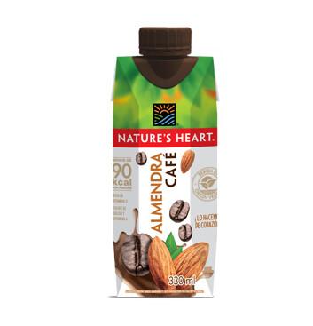 Bebida Almendra Café - Natures Heart - 330ml