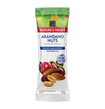 Snack Arándano Nuez - Natures Heart - 35 g