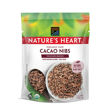 Cacao Nibs - Natures Heart - 100 g