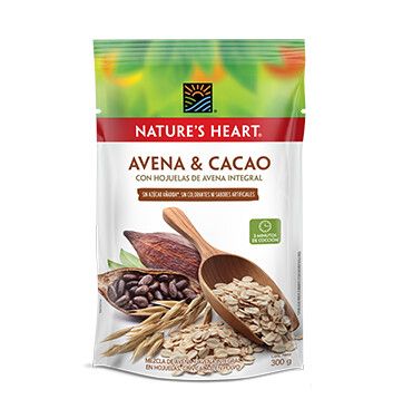 Avena Cacao - Natures Heart - 300 g