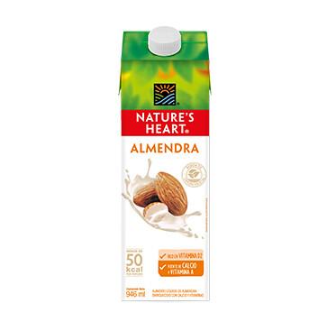 Bebida Almendra - Natures Heart - 946ml