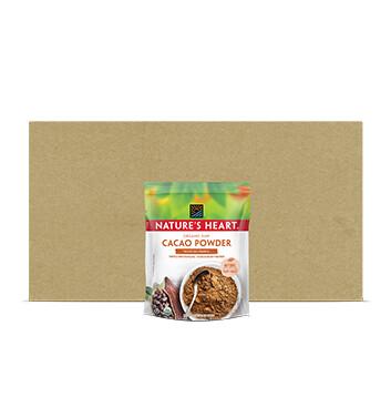Caja Cocoa Polvo - Natures Heart - 10 Unidades - 100 g