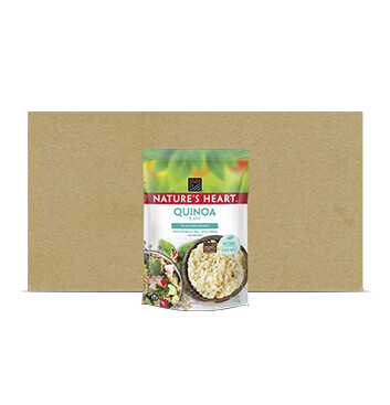 Caja Natures Heart Quinoa Royal Bolsa 12 x 250g