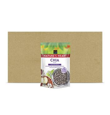 Caja Chia Life - Natures Heart - 12 Unidades - 250g