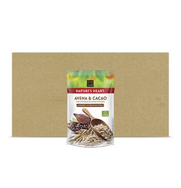 Caja Avena Cacao - Natures Heart - 12 Unidades - 300 g