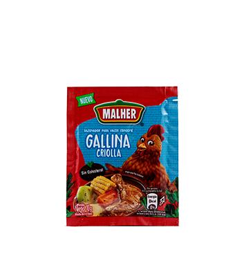 Consomé de Gallina Criolla Malher® - 4 x 10g