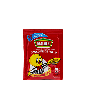 Consomé de Pollo Malher® - 6 x 12g