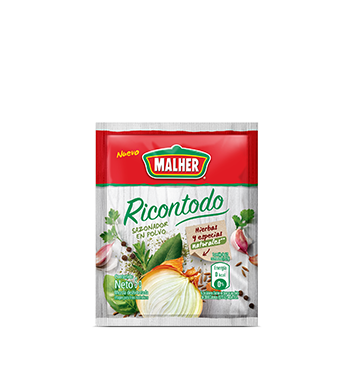 Sazonador Ricontodo Malher® - 6 x 5g