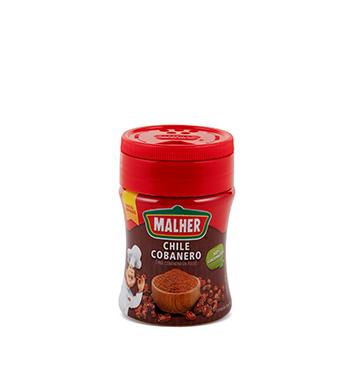 MALHER® Chile Cobanero en Polvo Frasco 45g