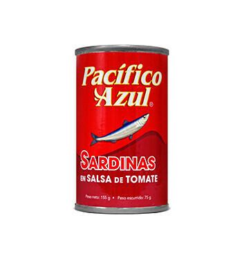 Sardina Tomate Pacífico Azul® - 155g