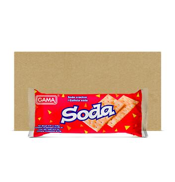 Fardo Galletas Soda - Gama - 27x10x24 g