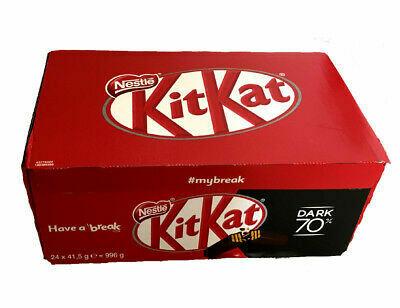 Caja de Chocolates Negros KIT KAT® (4 dedos) - 24Ux41.5g