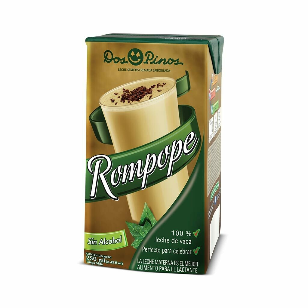 Rompope Sin alcohol Dos Pinos® - 250ml