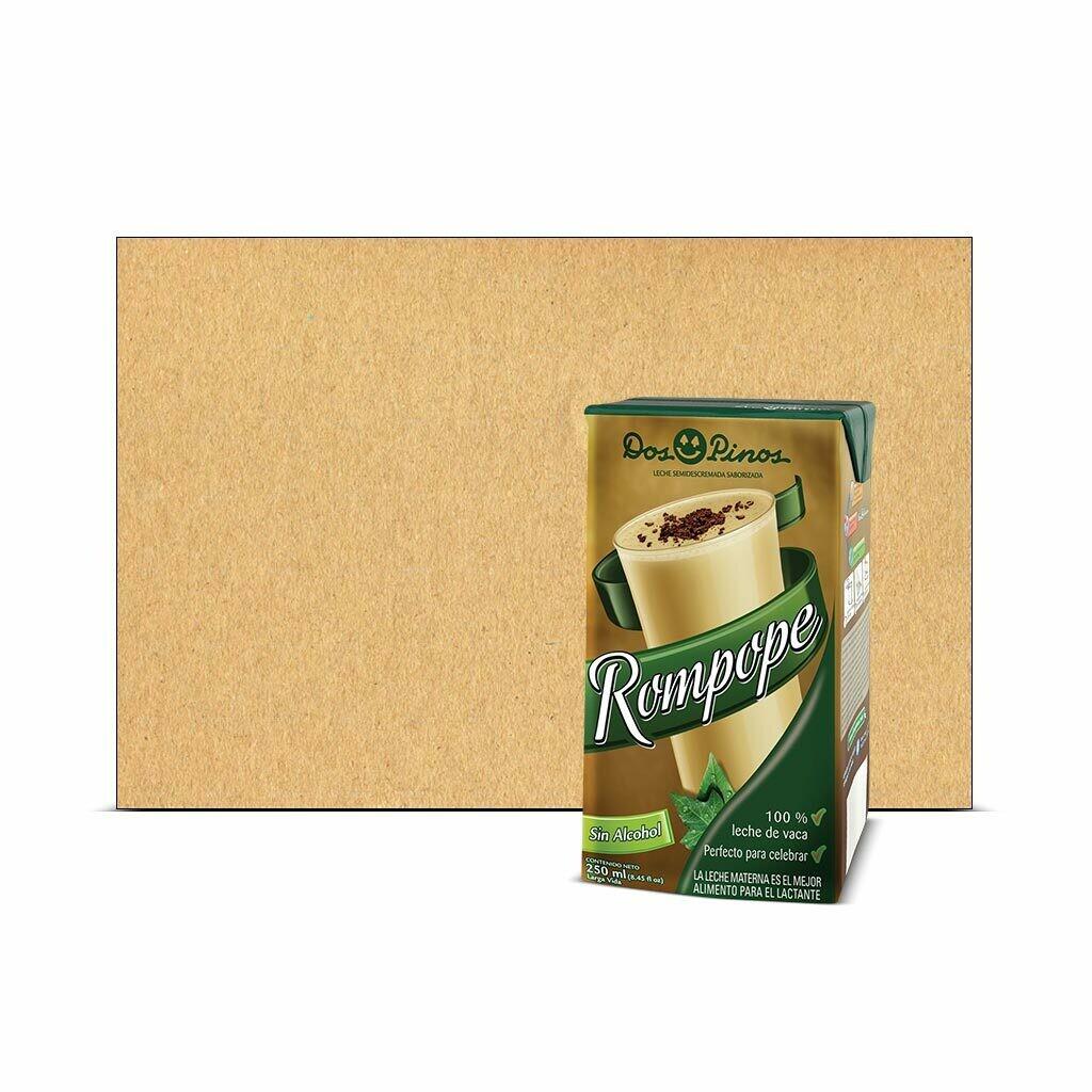 Caja de Rompope Sin alcohol Dos Pinos® - 9x250ml