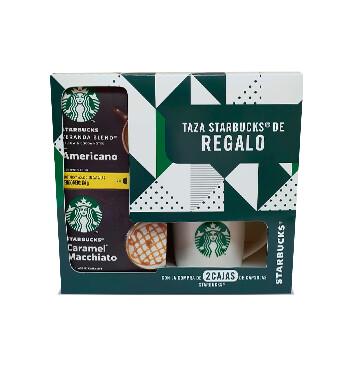 2Pack! Cápsulas Starbucks® + Taza - 685g
