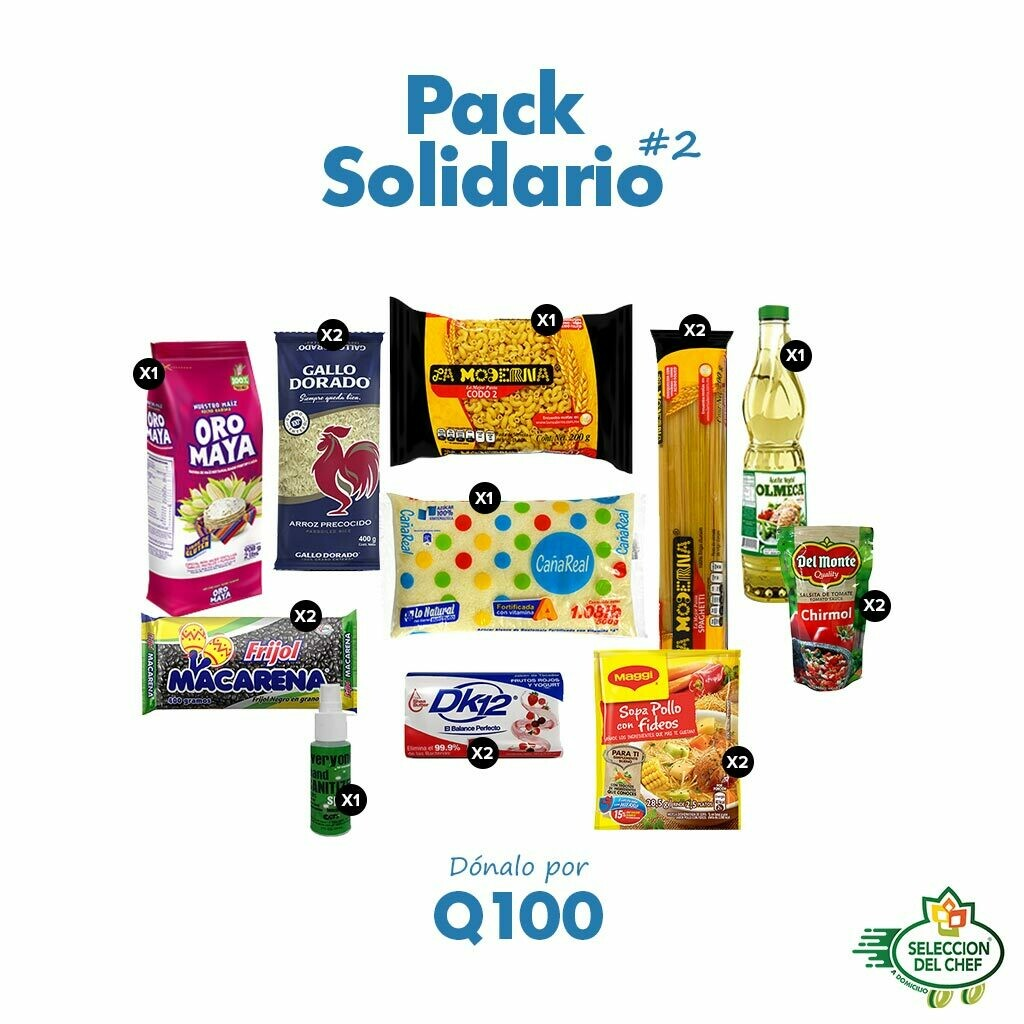 Pack Solidario #2