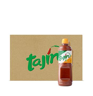 Caja de Salsa Líquida Chamoy tajín® - 12x475 ml