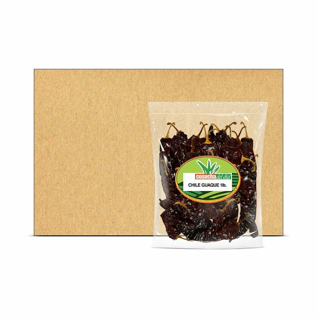 Caja con Bolsas de Chile Guaque - Selección del Chef® - 25 Libras