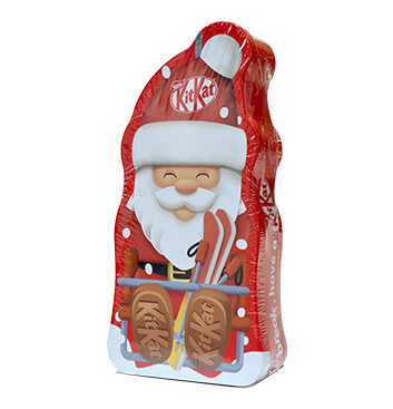 Lata de Chocolates Santa Claus KIT KAT® - 4x29g