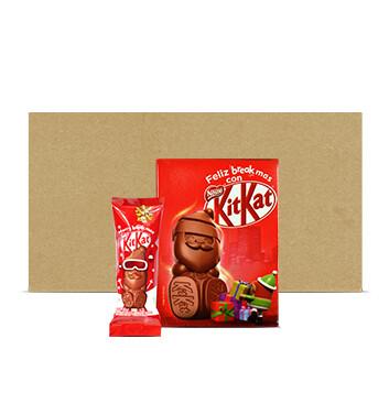 Caja de Chocolates Santa Claus KIT KAT® - 12x12x29g
