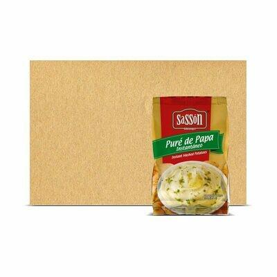 Caja con Bolsas de Puré de Papa Sasson® - 24x100g