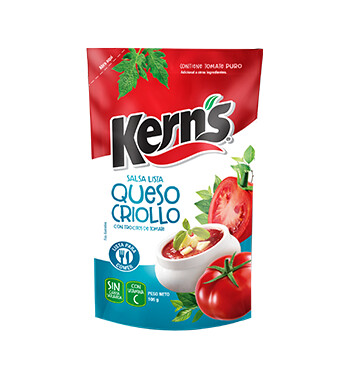 Salsita Queso criollo - Kerns - 106 g