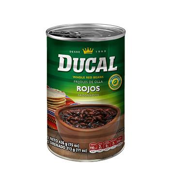 Frijol Rojo Entero - Ducal -15 oz/lata