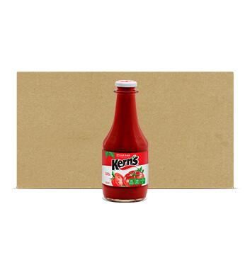 Caja Salsa Ketchup vidrio - Kern's - 12 Unidades - 29 oz