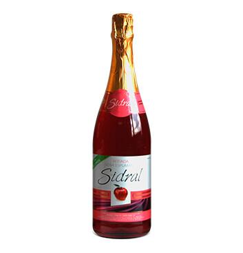 Botella de Sidra Sidral® Sin alcohol Sabor Manzana Rosada