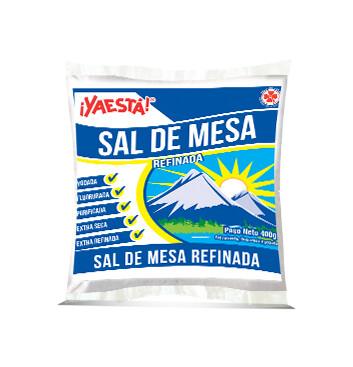 Sal refinada de mesa yodada - Ya Esta - 200 g