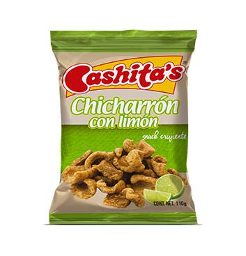 Chicharron con Limón - Cashitas - 110g
