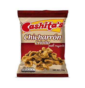 Chicharron criollo - Cashitas - 110g