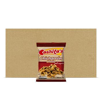 Caja Chicharron criollo - Cashitas - 25 Unidades - 110g
