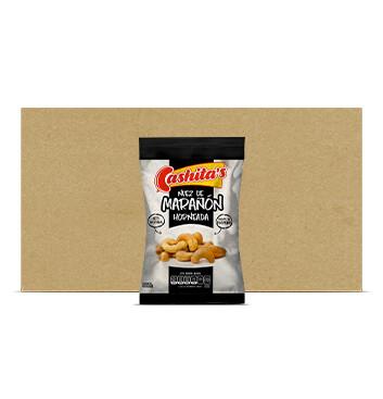 Caja de Semillas de Marañon horneado - Cashitas - 150gx20u