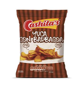 Yuca con barbacoa - Cashitas - 130g