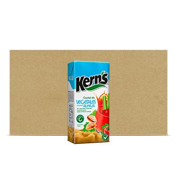Caja Jugo de Vegetales Sabor Almeja - Kerns - 12x1Lt