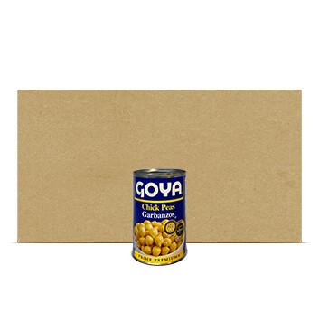 Caja Garbanzo bajo en sodio - Goya - 24 Unidades - 439g