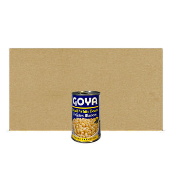 Caja Frijoles Blancos entero - Goya - 24 Unidades - 439g