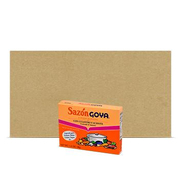 Caja de Sazón Culantro y Achiote - Goya - 36 U. - 40g