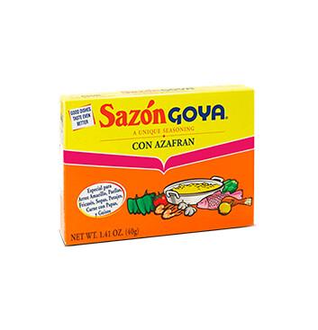 Goya Sazón con Azafran - 40g