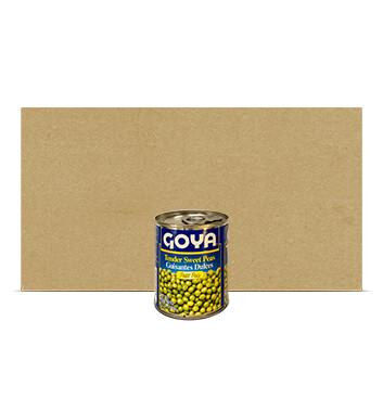 Caja Guisantes dulces - Goya - 24 Unidades - 241g