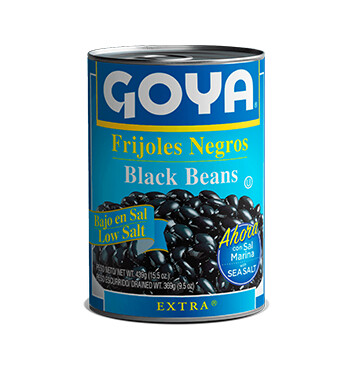 Frijol Negro bajo en sodio - Goya - 439g