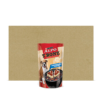 Caja Snack para Perro - TBonz - 6 Unidades - 283g - Sabor Chuleta