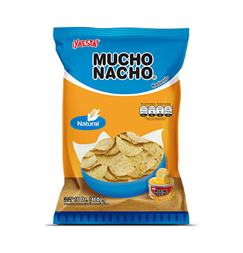 Mucho Nacho Natural redondo - Ya Está -  454g