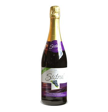 Botella de Sidra Sidral® Sin alcohol Sabor Uva