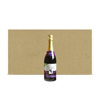 Caja con Botellas de Sidra Sidral® Sin alcohol - Sabor Uva - 12x750ml