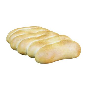 Pan francés - 6 Tiras con 6 Unidades/bolsa