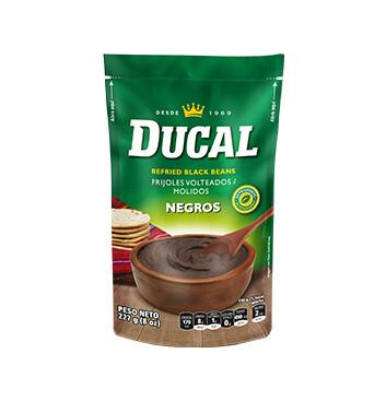 Frijol volteado Negro - Ducal - 8 oz